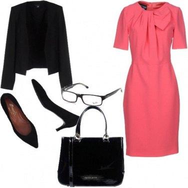 Outfit Bon Ton, autonno in rosa