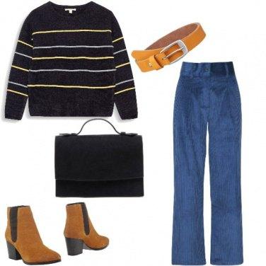 Outfit Basic, comoda anche per il tempo libero