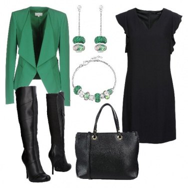 Outfit Verde Stroili