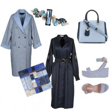Outfit Melange di celesti