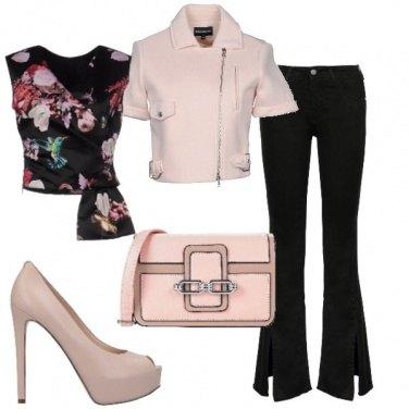 Outfit Il jeans con lo spacco