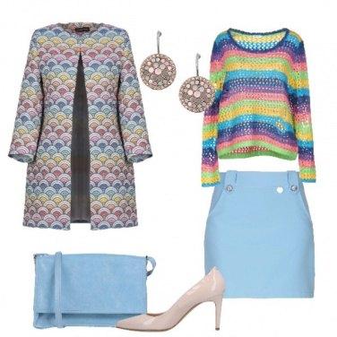 Outfit All\'insegna dei colori
