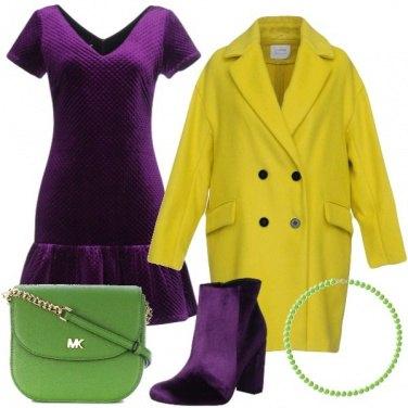 Outfit Il Viola e i suoi complementari