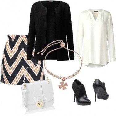 Outfit Quadrifoglio portafortuna