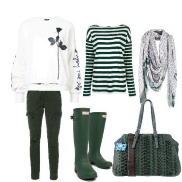 Outfit Un giorno di pioggia
