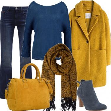 Outfit Maglione con sorpresa
