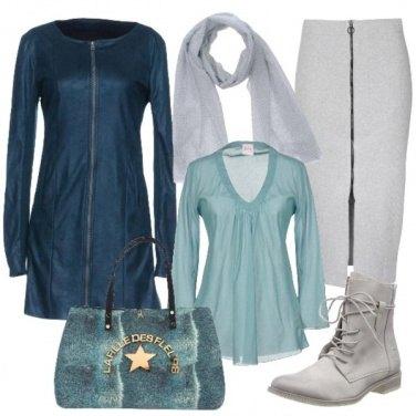 Outfit Il mondo è grigio il mondo è blu