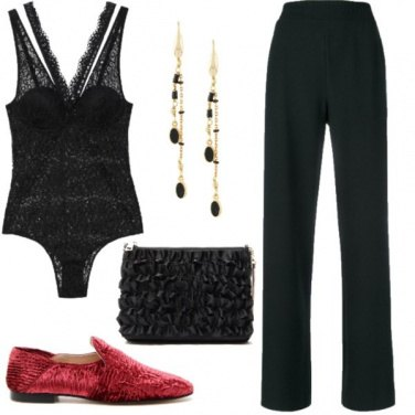 Outfit Black night