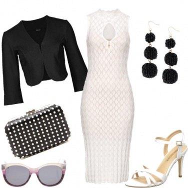 Outfit Pochette a pois