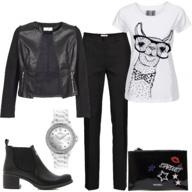 Outfit Stivaletto black