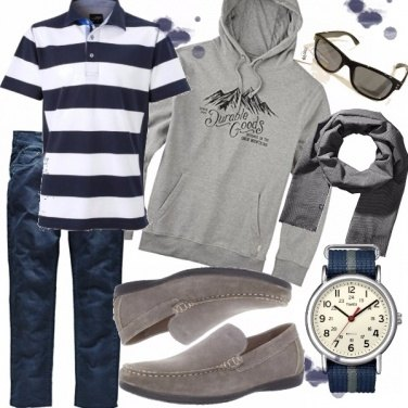 Outfit Moderni marinai