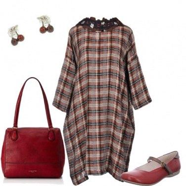 Outfit Pancione scozzese
