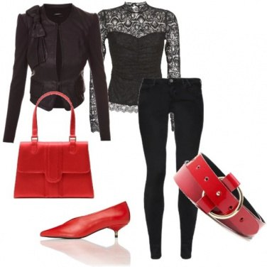 Outfit Dark Chic