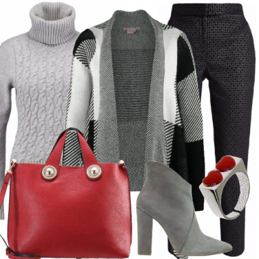 Outfit Chic con il cardigan