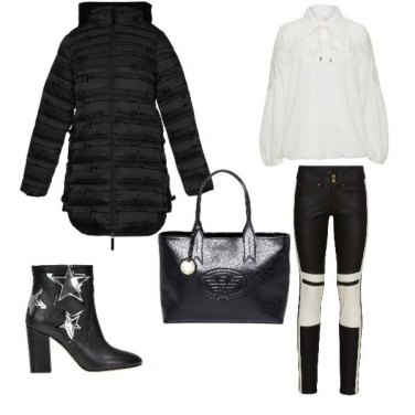Outfit Donna in pelle