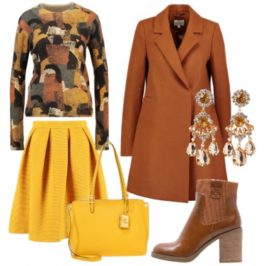 Outfit Gonna e cappotto