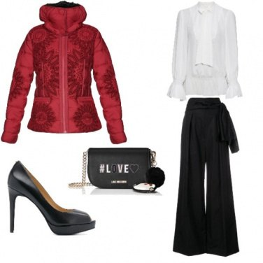 Outfit Desigual amour