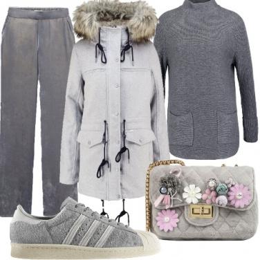 Outfit Il grigio dei paesi nordici