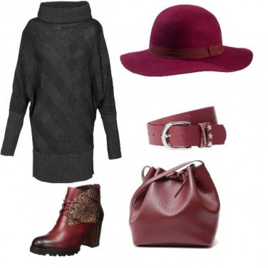 Outfit Grigio e Shyraz