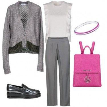 Outfit Fuxia, un tocco di allegria!
