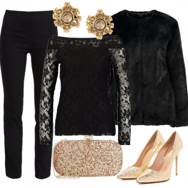 Outfit Serata glamour