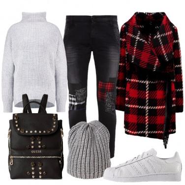 Outfit Oggi mi sento urban
