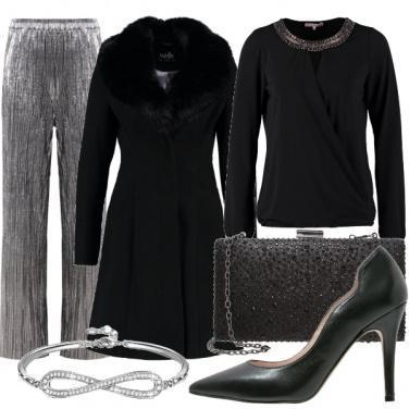 Outfit Scintillante per le feste