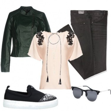 Outfit Casacca rock