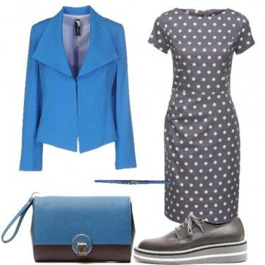 Outfit Pois e stringate