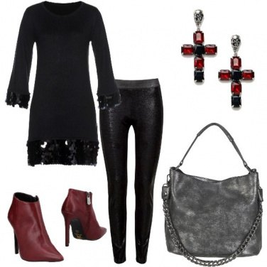 Outfit Sovrapposizioni rock