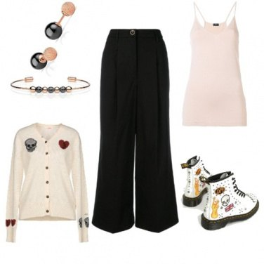 Outfit Perle nere