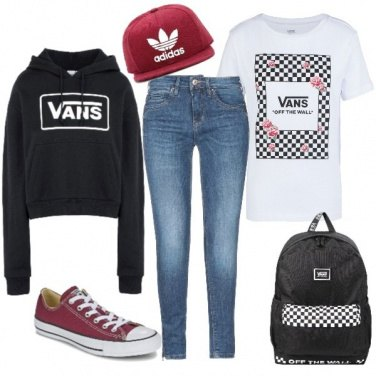 Outfit Vans\' addicted