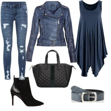 Outfit Blue notte