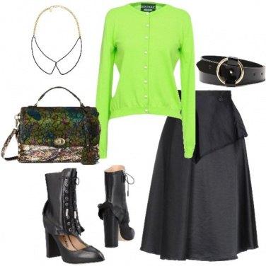 Outfit Rock fluo nel mio bon ton