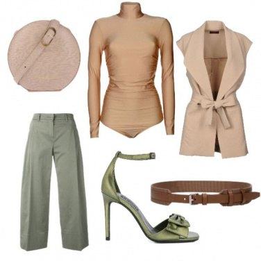 Outfit Verde salvia