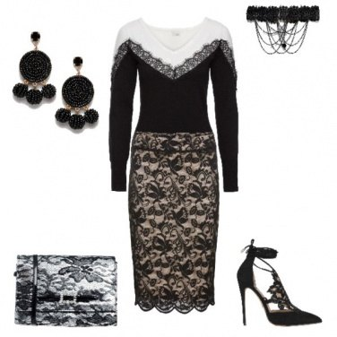 Outfit Pizzo mania