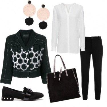 Outfit Comoda e glamour