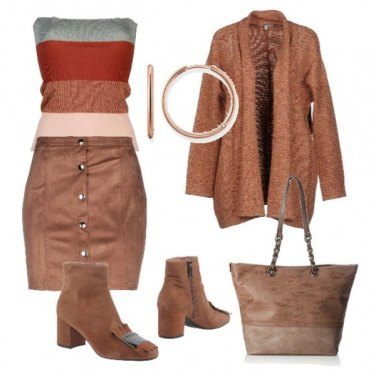 Outfit Cardigan aperto