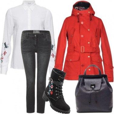 Outfit Prima pioggia