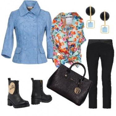 Outfit Eleganza in stivaletti