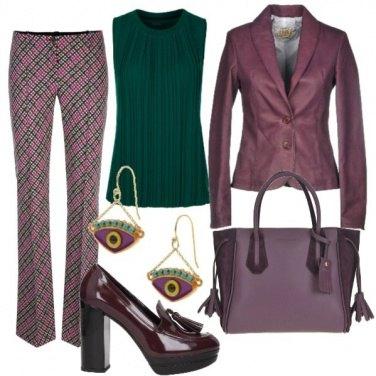 Outfit I colori del sottobosco