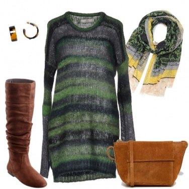 Outfit Abito di maglia