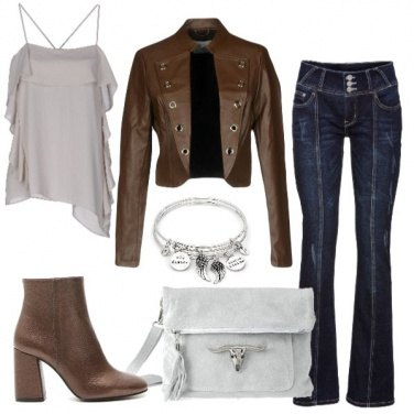 Outfit Marron glacé