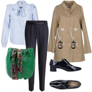 Outfit Clima londinese