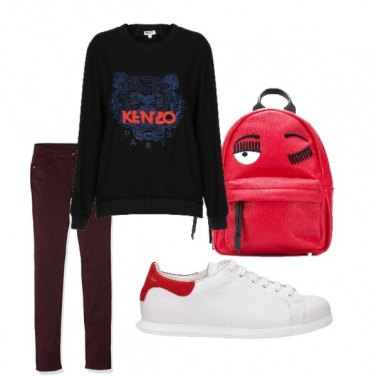 Outfit Kenzo black