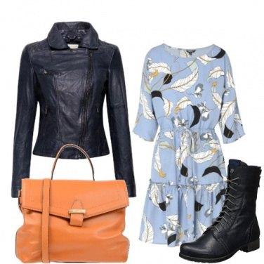Outfit Un po\' biker, un po\' romantica