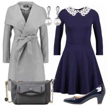 Outfit Bon ton all\'università