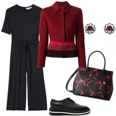 Outfit Jumpsuit in autunno