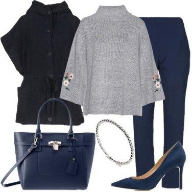Outfit Il cappotto senza maniche