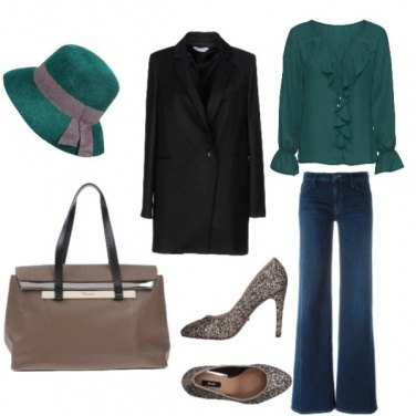 Outfit Il glitter di giorno